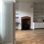 Wood Flooring and Original Fireplace